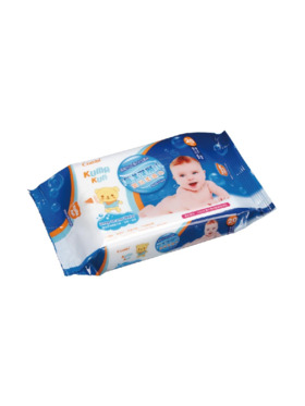 Combi Kuma-kun Deep Ocean Water Baby Wipes (20 sheets)