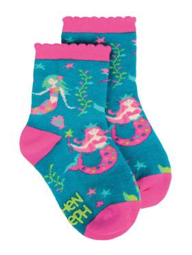 Stephen Joseph Mermaid Toddler Socks