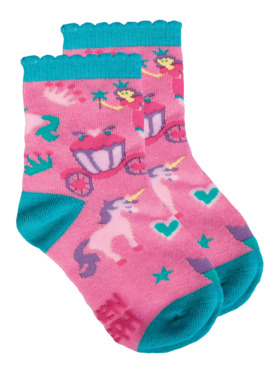 Stephen Joseph Princess Toddler Socks