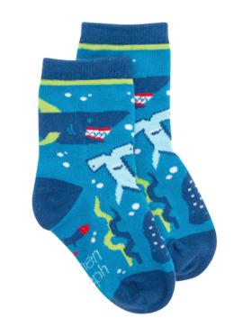 Stephen Joseph Shark Toddler Socks