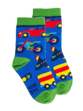 Stephen Joseph Transportation Toddler Socks